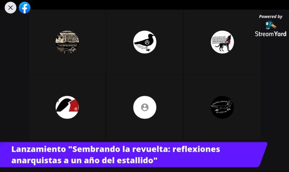 [Video] Presentación del boletín «Sembrando la revuelta, reflexiones anarquistas a un año del estallido»