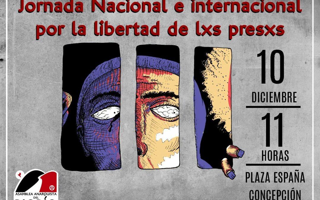 Jornada nacional e internacional por la libertad de lxs presxs políticxs de la revuelta
