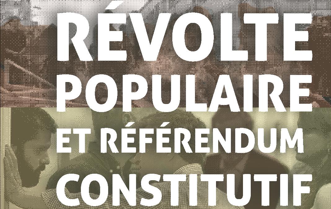 Révolte populaire et référendum constitutif au Chili – Analyse de l'Assemblée anarchiste de Bío-Bío